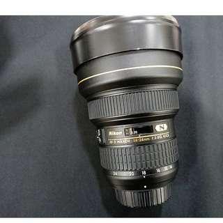 [售] Nikon AF-S 14-24mm F2.8G ED (公司貨)