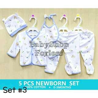 Newborn Pajama Set - SET #3