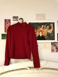 Red ❤ Turtleneck