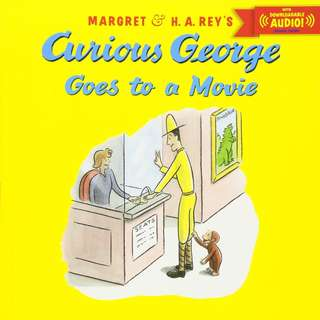 (Brand New) Curious George Goes to a Movie (Curious George)    By: H. A. Rey, Margret Rey (Paperback)  For Ages: 4 - 8 years old