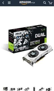 Asus Nvidia Geforce Gtx GB dual-gtx 1070-o8g