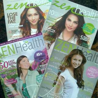 Get all zen health magazines