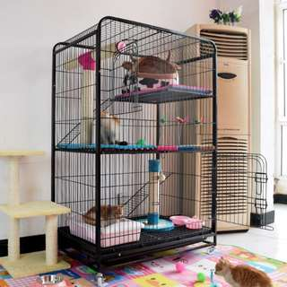 Cat luxury home cage 2 or 3 storeys