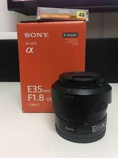 Sony E-mount 35mm f1.8 SEL35F18