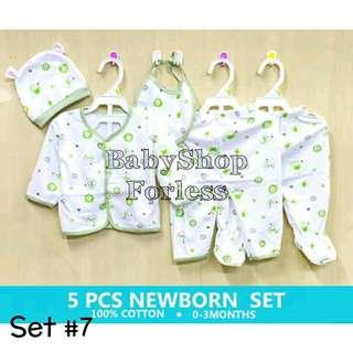 Newborn Pajama Set - SET #7