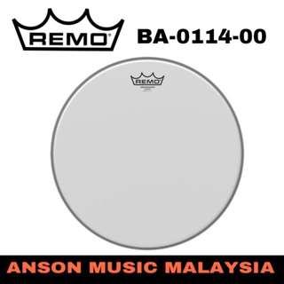Remo BA-0114-00 Coated Ambassador Batter Drumhead, 14''