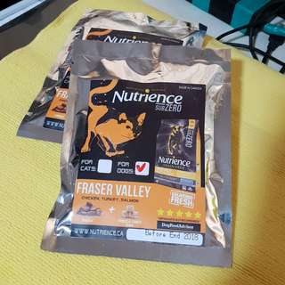 Nutrience SubZero Fraser Valley Dog Food Sample  Pack