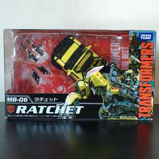 TRANSFORMERS - TakaraTomy - Movie The Best - MB-06 - Autobot RATCHET Action Figure