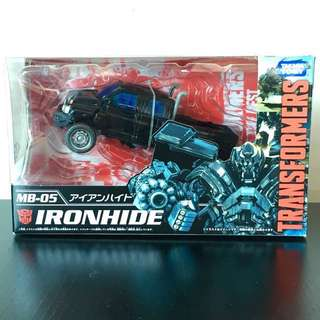 TRANSFORMERS - TakaraTomy - Movie The Best - MB-05 - Autobot IRONHIDE Action Figure