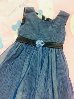 Blue Sparkling Gown