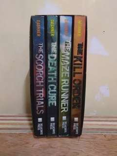 Maze Runner Boxed Set