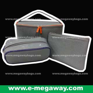 #Set #Emboss #PU #Amenity #Box #Case #Handy #Makeup #Tools #Cosmetics #Small #Pouch #Zipper #Travel #Elegant #Beauty #Bag @MegawayBags #Megaway #MegawayBags #CC-0043A-C-#71694-#71696-#71688-R2 #化妝袋 #小袋 #拉鍊袋 #美容袋  #洗滌包