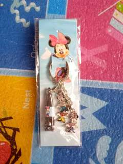 (BNEW) Minnie Mouse Keychain & Nail Cutter