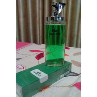 Lacoste essential- perfume for men - made in UK