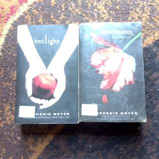 Twilight and new moon books