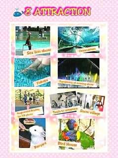 Manila Ocean park ticket