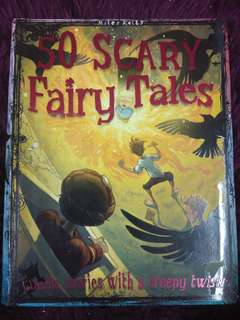 50 scary fairy tales - preloved book