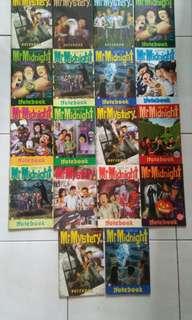 Mr Midnight notebooks