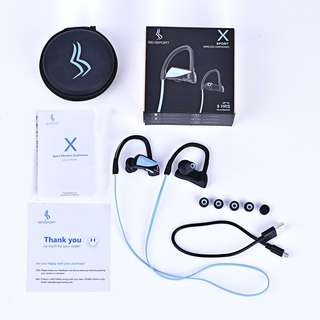 New 運動防水ipx7藍牙耳機 SENSPORT X Bluetooth sport headphones, 8 hrs 播放, 9 days 待機