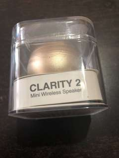 Clarity 2 Mini Wireless Speaker