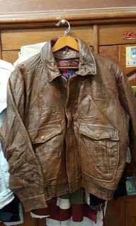 Jaket polo original kulit