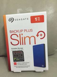 Seagate Backup Plus Slim 1T