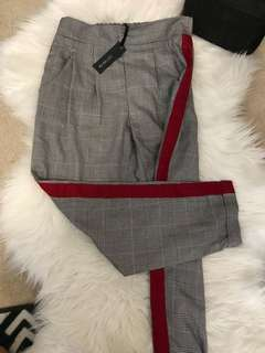 BNWT Cotton on chequered tailor pants