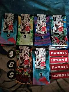 Kaos kaki sport basket full print stayhoops ORIGINAL