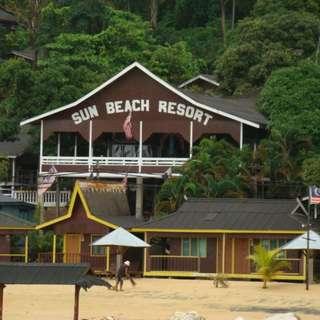 3D2N Snorkeling Package at Sun Beach Resort, Pulau Tioman