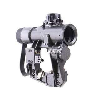 🚚 台南 武星級 SVD 1X30 狙擊鏡 (LED 紅外線 外紅點 內紅點 激光 快瞄 定標器 瞄準鏡 紅雷射 綠雷射 雷射 槍燈 瞄具