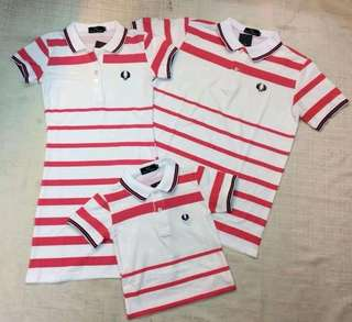 FAMILY POLO-SHIRT/DRESS SET