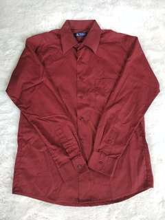 Alisan Maroon Shirt
