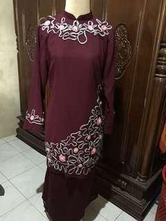 Satu set baju+rok kondangan formal