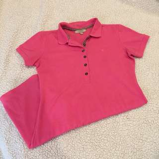 Burberry London Pink Polo Dress