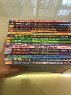 Mr Midnight and Mr Mystery story books