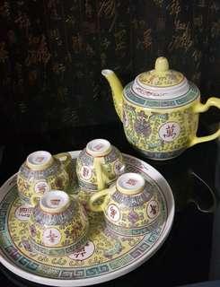 Old Chinese Tea Set