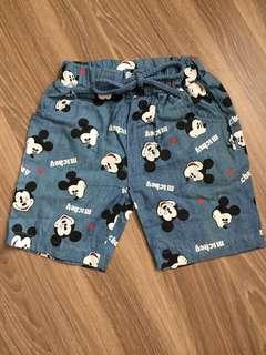🚚 寶寶米奇短褲