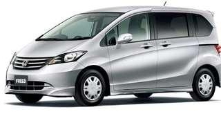 Honda freed (7 seaters MPV)