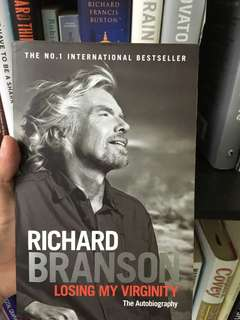 Richard Branson - loosing my virginity