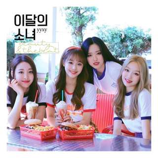 LOONA YYXY BEAUTY & THE BEAT