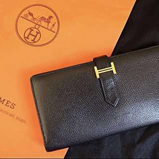 HERMES BEARN LONG WALLET 👑