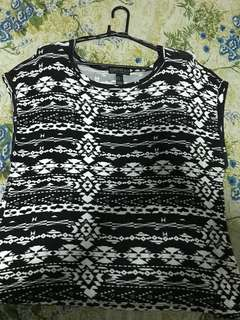 Forever 21 Plus Size Printed Blouse
