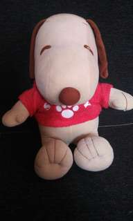 Snoopy collectors stuffed toy