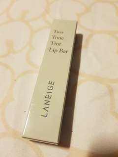 Laneige Two Tone Tint Lip Bar (No 1. Cotton Candy)