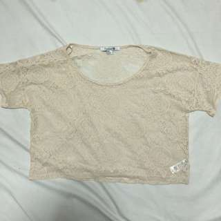 Forever 21 Lace Top Medium
