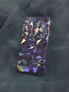 🌈Cosmic Crystal Opalescent iPhone Case