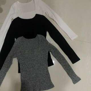 BN long sleeves top set