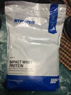 Myprotein vanilla flavour 2.5kg