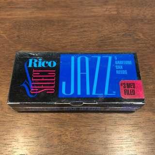 Rico Select Jazz (Baritone Saxophone)