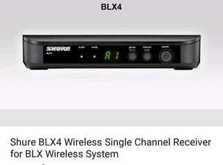Shure blx4 receiver